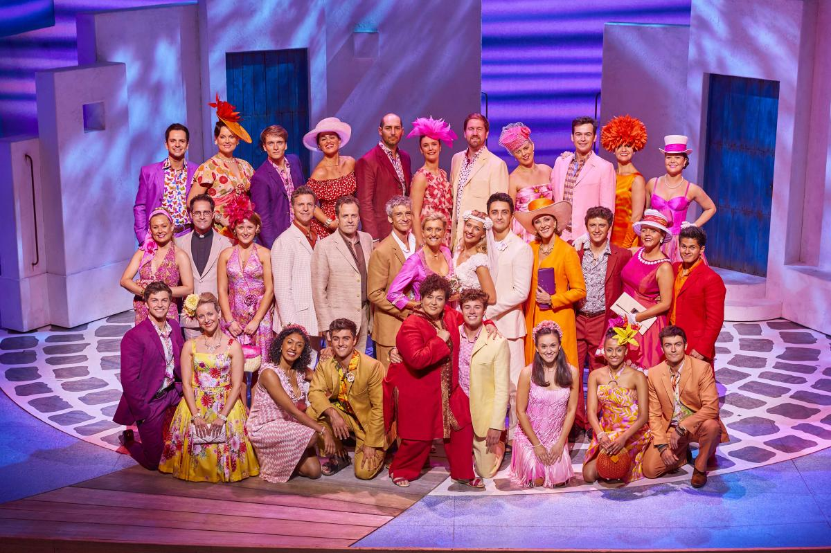 The cast of MAMMA MIA!