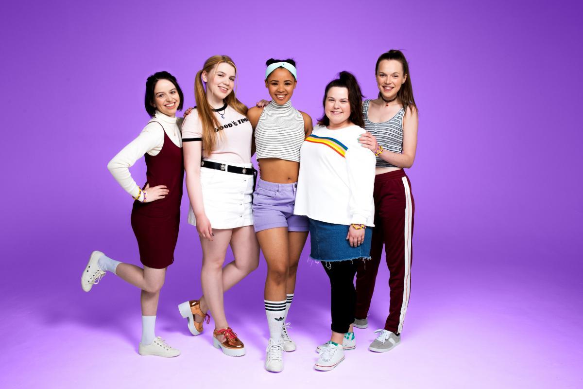 LtoR Lauren Jacobs, Katy Clayton, Rachelle Diedericks, Faye Christall, Sarah Kate Howarth
