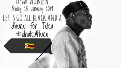 Photo of Zim Celebs Honour #DhukuForTuku