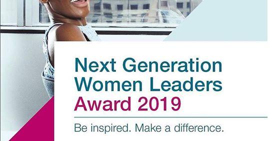 McKinsey & Company Next Generation Women Leaders Award 2019