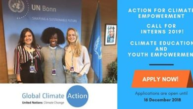 Photo of UNFCCC's Action for Climate Empowerment Internship Programme 2019
