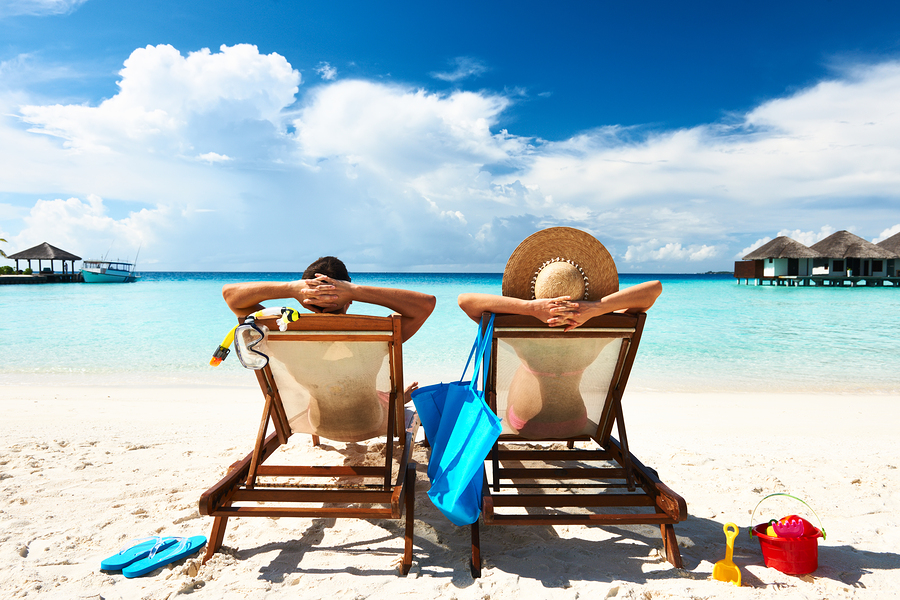 Taking your first couples vacation is a huge deal. This is the crucible, the Eliminator, of couple's events. You're trapped with each other for at least a long weekend,