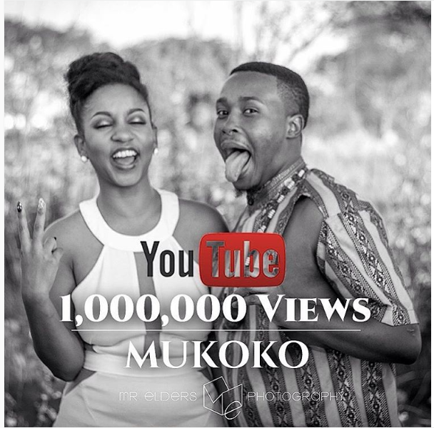 Ammara Brown And Tytan Celebrates ''1 Million Views'' For Mukoko Video
