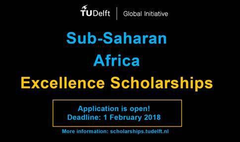 Sub-Saharan Africa Excellence Scholarships