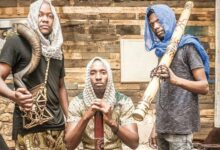 Photo of Djembe monks to share stage with Sho Madjozi.