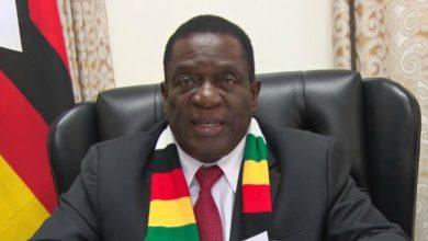 Photo of President Mnangagwa top 5 chants.