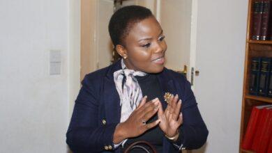 Photo of Advocate Fadzayi Mahere's little confession