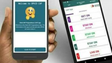 Photo of USAID sponsored app helps with HIV counselling.