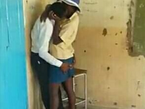Photo of St Therese students expelled for passionate love making video.