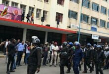 Photo of Breaking news: Police assault MDC A supporters at Harvest house.