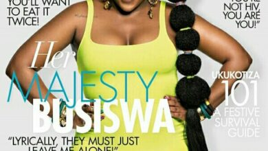 Photo of Busiswa's feel good moves on True love magazine shoot