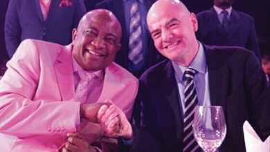 Photo of Chiyangwa to host UEFA president.