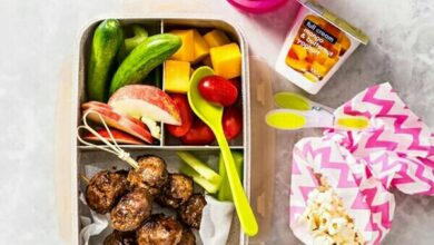 Photo of Siba dishes out cool advice on kid's lunch box meals.