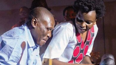 Photo of Touching:Selmor Mtukudzi still trying to come to terms with father's death.