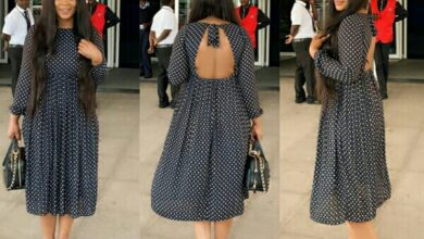 Photo of We love these pleated designs worn by these celebs.
