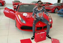 Photo of Levels:Ginimbi splashes on a brand new Ferrari weeks after buying a Bentley.