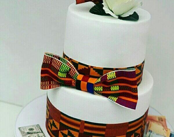 Photo of Trending wedding cake themes.