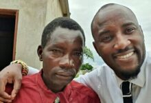 Photo of Mudiwa owns up to his promise. Blesses thieving teacher