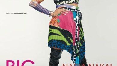 Photo of Nadia Nakai graces top magazine cover