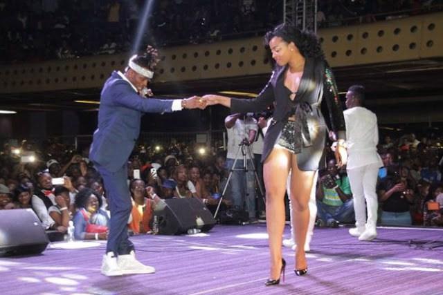 Jackie Ngarande Slams bedding Diamond Platnunz Rumors