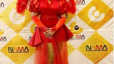 Photo of Madame Boss MisRed and Gemma Kill it on the Red Carpet NAMA Awards