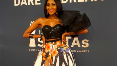 Photo of Mbo Mahocs Shines On SAFTAs Red Carpet