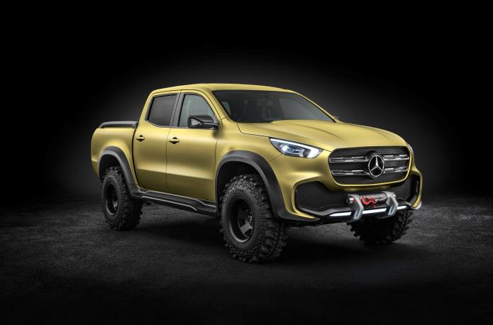 Mercedes-Benz New Concept X-CLASS Pick Up A Marvel !