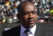 "Photo of ""Enough is enough"". Chamisa declares war."