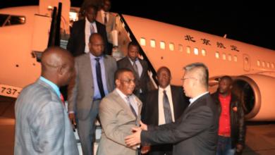 Photo of VP Chiwenga returns home.