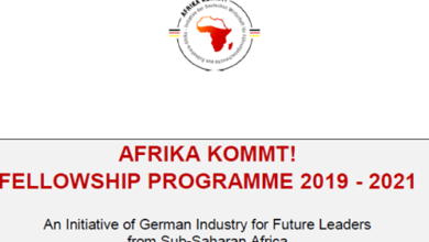 Photo of The AFRIKA KOMMT! Fellowship Programme 2019/2021