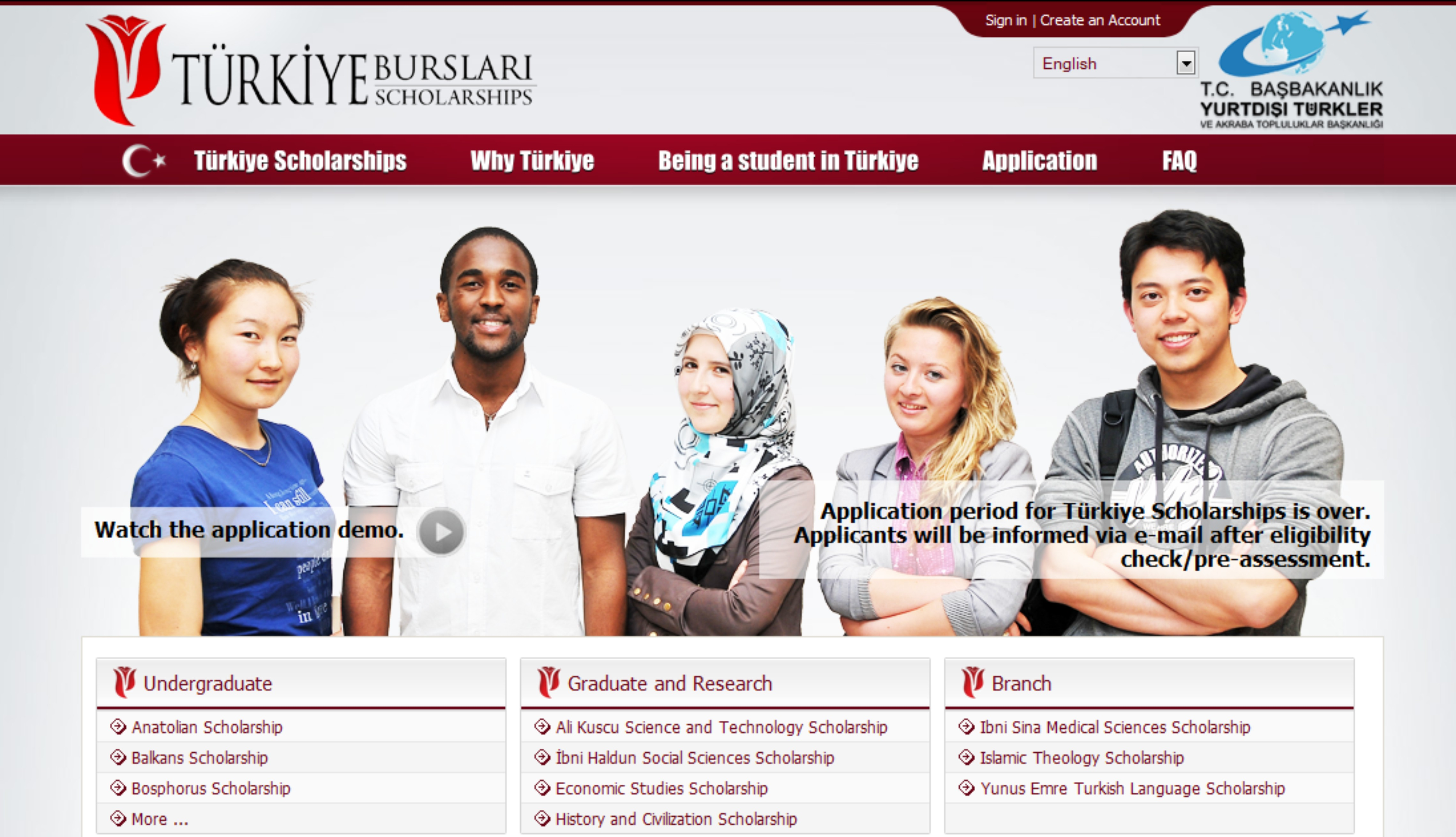 Turkish Government Scholarships 2017 for Zimbabwean Students