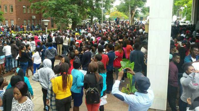 UZ Students Refuse To Write Exams In Protest
