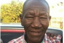 Photo of Zimbawe's fastest man dies.