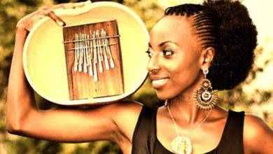 Photo of Hope Masike's new album positively reviewed.