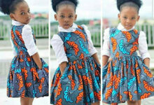 Photo of Stylish Ankara designs for kids.