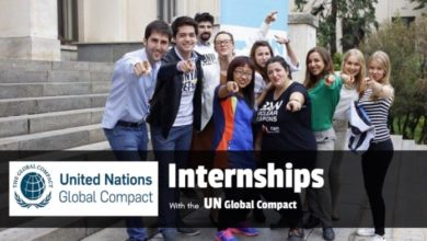 Photo of United Nations Global Compact Internship Fall 2018
