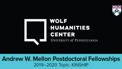 Photo of Andrew W. Mellon Postdoctoral Fellowship 2019-2020 in USA
