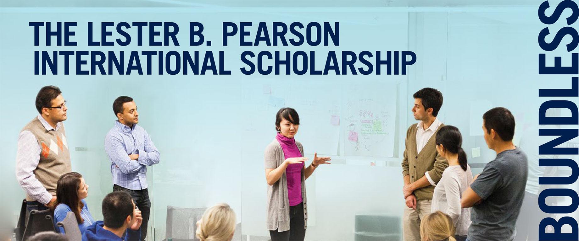 Lester B. Pearson International Scholarship Program 2018/2019