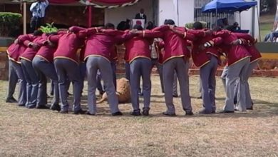 Photo of Mutare Boys High students caught out