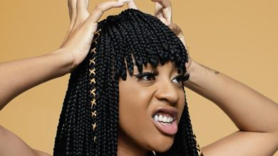 Photo of Nadia Nakai excited about SA hip hop awards nomination.
