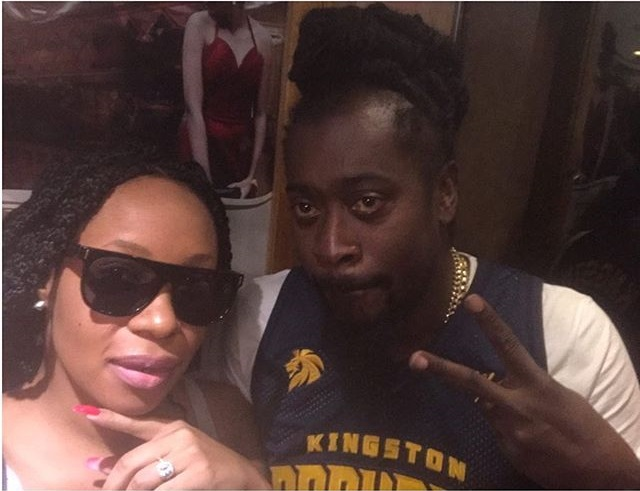 Caught With A Star! See Pics Beenie Man Arrives In Zimbabwe