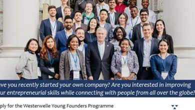 Westerwelle Young Founders Programme Spring 2019