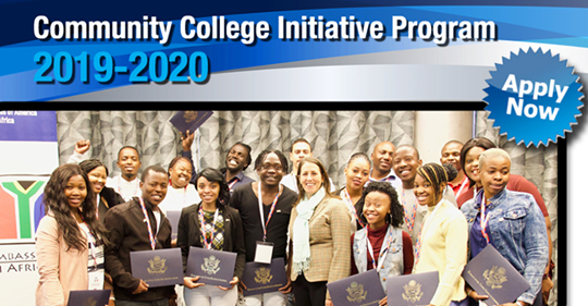 U. S. Department of State exchange Community College Initiative (CCI) Program 2019/2020