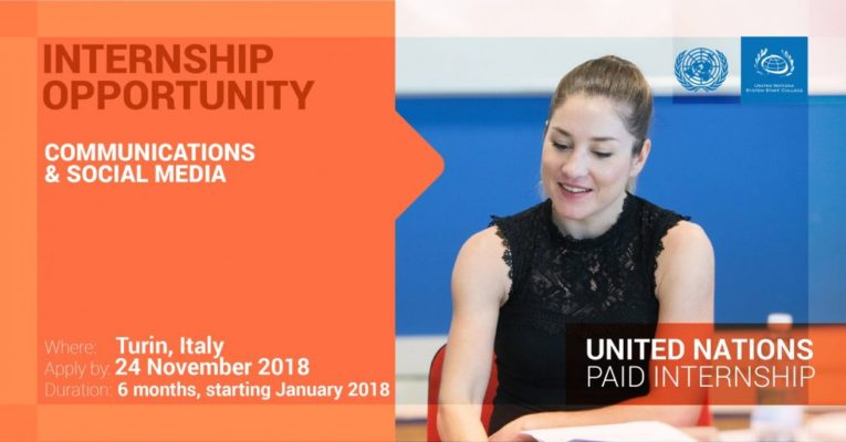 Paid Internship Opportunity at UNSSC in Turin, Italy