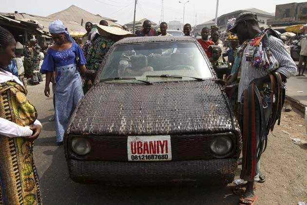 Photo of Check Out The World's First Hand-Woven Car Made In Africa