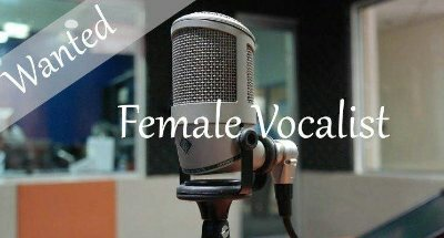 Wanted Female Vocalist/Voice For Hammer And Tongues