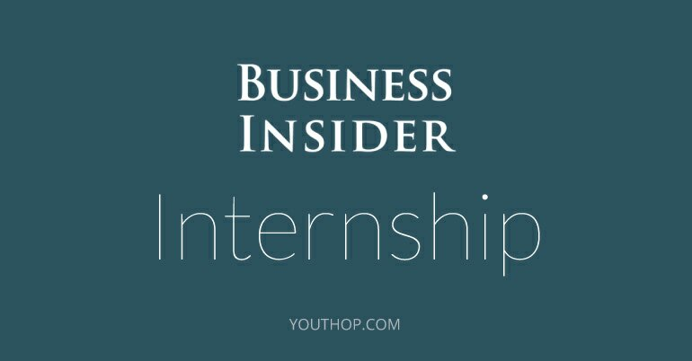 Photo of Business Insider Paid Internship In New York