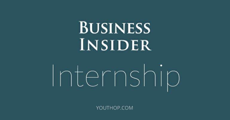 Business Insider Paid Internship In New York