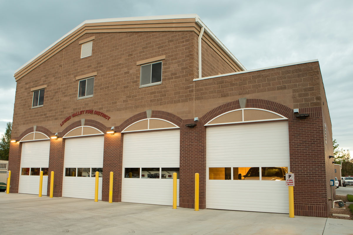 Brick Fire Station