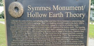 Hollow earth monument